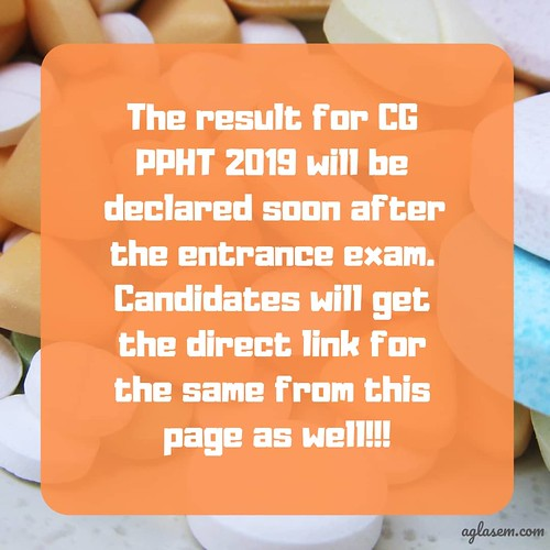 CG PPHT 2019 Result
