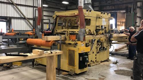 APT videographer Gary Brown films Cross Laminated Timber manufacturing