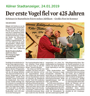 Artikel Kölner Stadtanzeiger