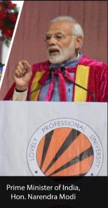 LPU Becomes The Only University To Host First 3 Citizens Of India - PM, President And Vice President