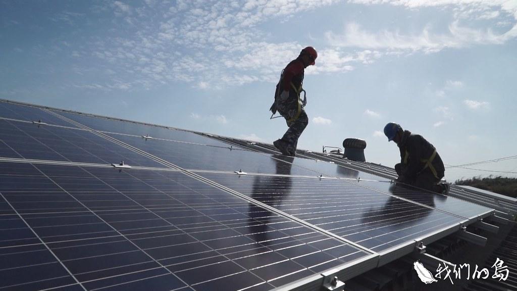 原本能源局制定的目標,屋頂型要在2025年達到3GW,目前已經達成2.4GW,有望提前達標。