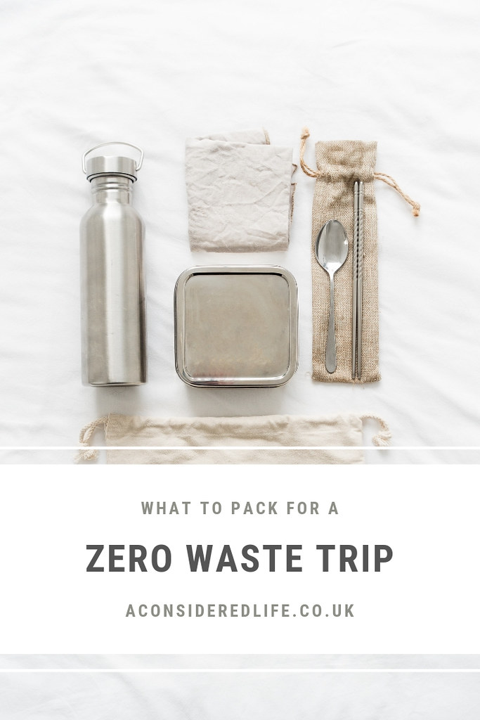 Packing For A Zero Waste Road Trip