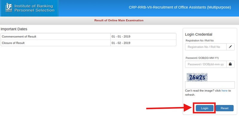 IBPS RRB 2018 Result