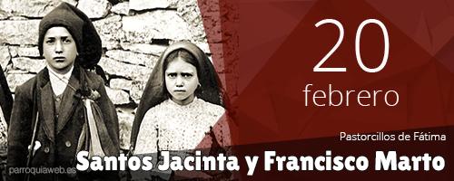 Santos Jacinta y Francisco Marto