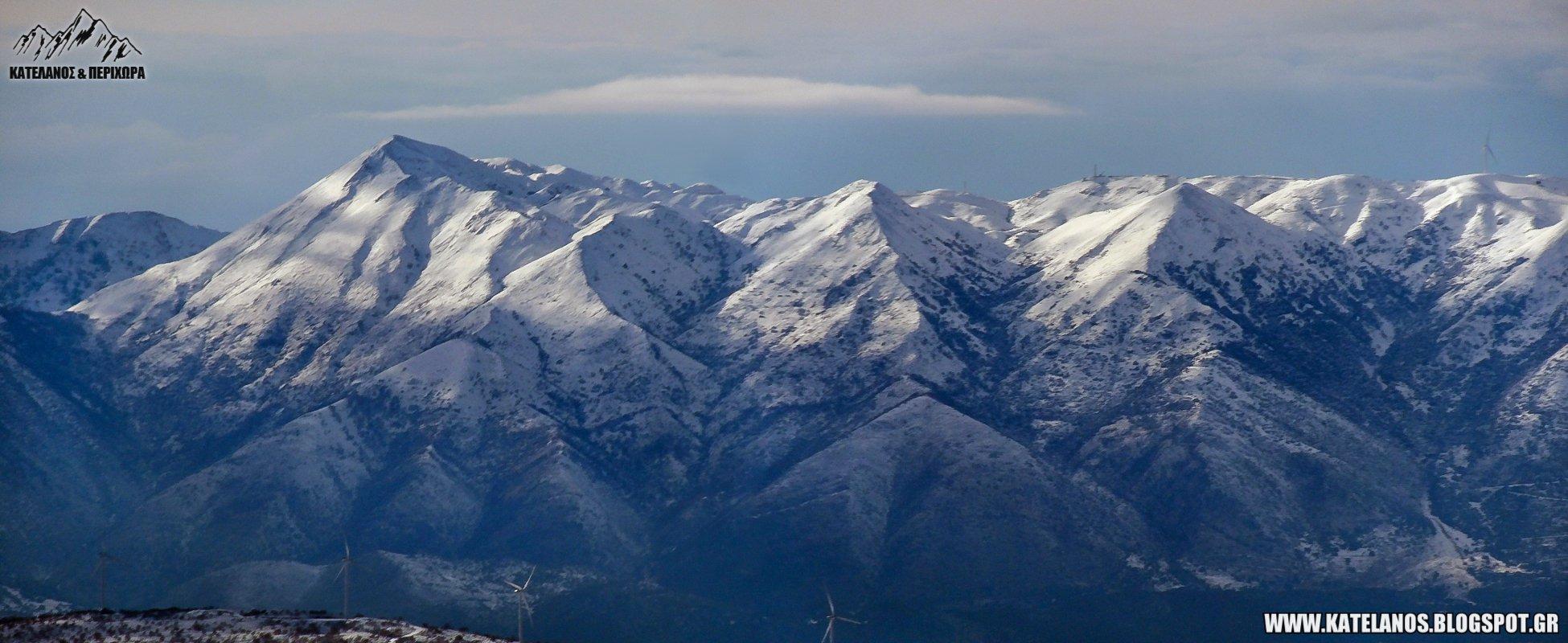 περγαντη ψηλη κορυφη ακαρνανικα ορη ξηρομερο χιονια