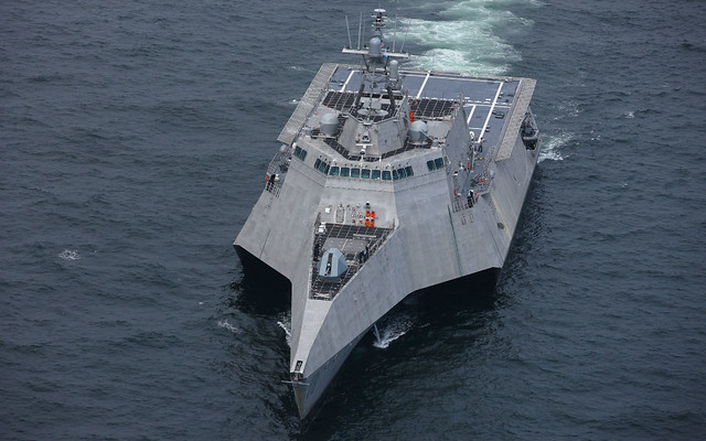 USS Charleston (LCS 18) - Naval Surface Force, U.S. Pacific Fleet Public Affairs
