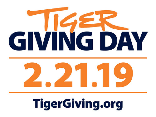 Tiger Giving Day, February 21, 2019, Tigergiving.org