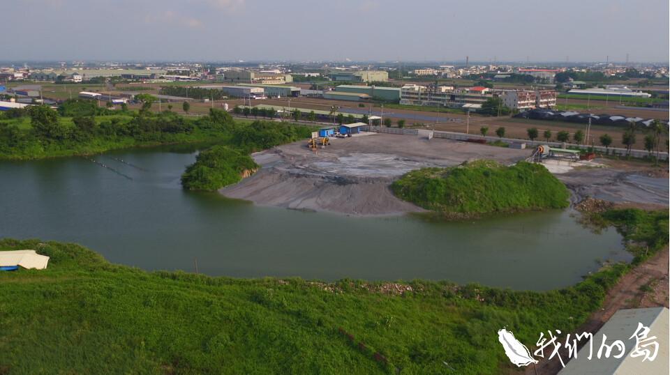 赤山巖整治場址居民擔憂地下水遭到污染。