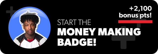 21 Savage Money Making Badge