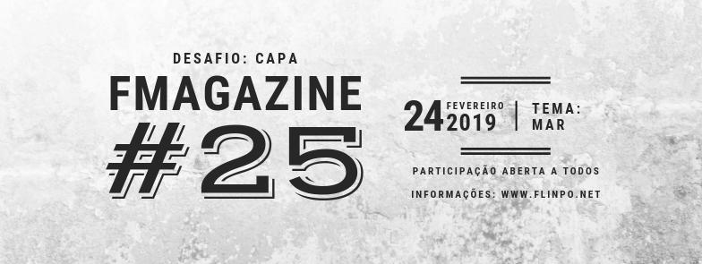 Desafio: Capa da FMAGAZINE #25