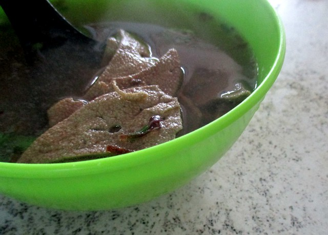 Hock Sing liver soup