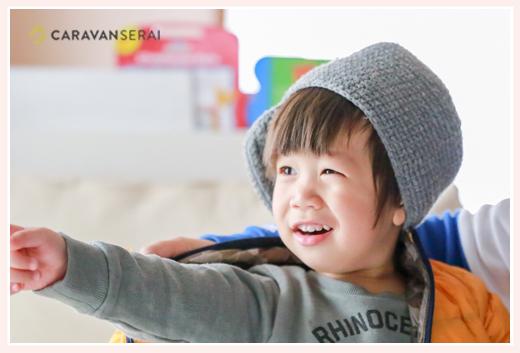 2歳の男の子 カッコイイ