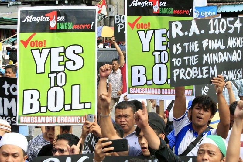 菲律宾南部穆斯林占多数的地区,周一举办一项关于能否取得更大程度自治的公投。(图片来源:Philconsa)