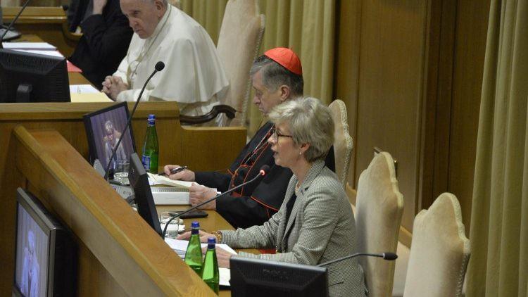 Ghisoni y el Papa