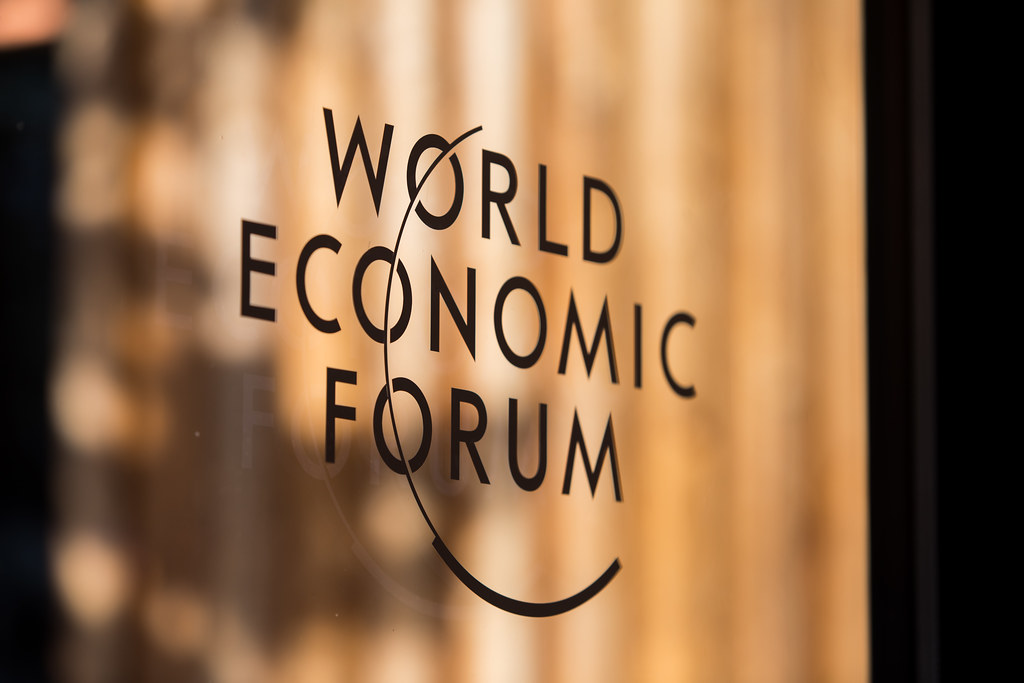 2019世界經濟論壇。World Economic Forum / Ciaran McCrickard
