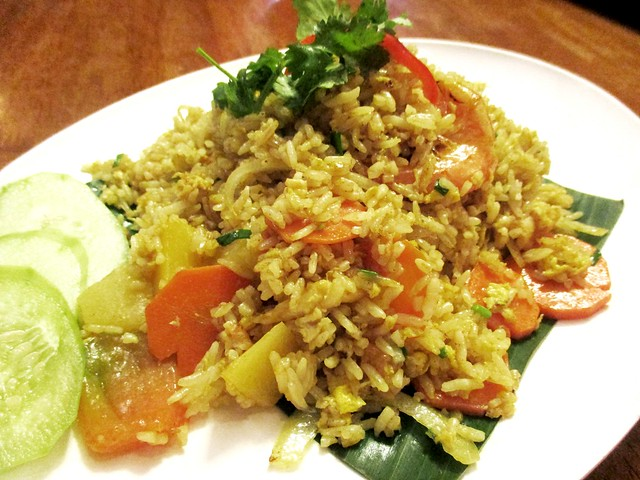 Sakhon pineapple fried rice