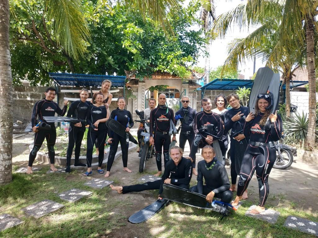 обучение фридайвингу на Бали