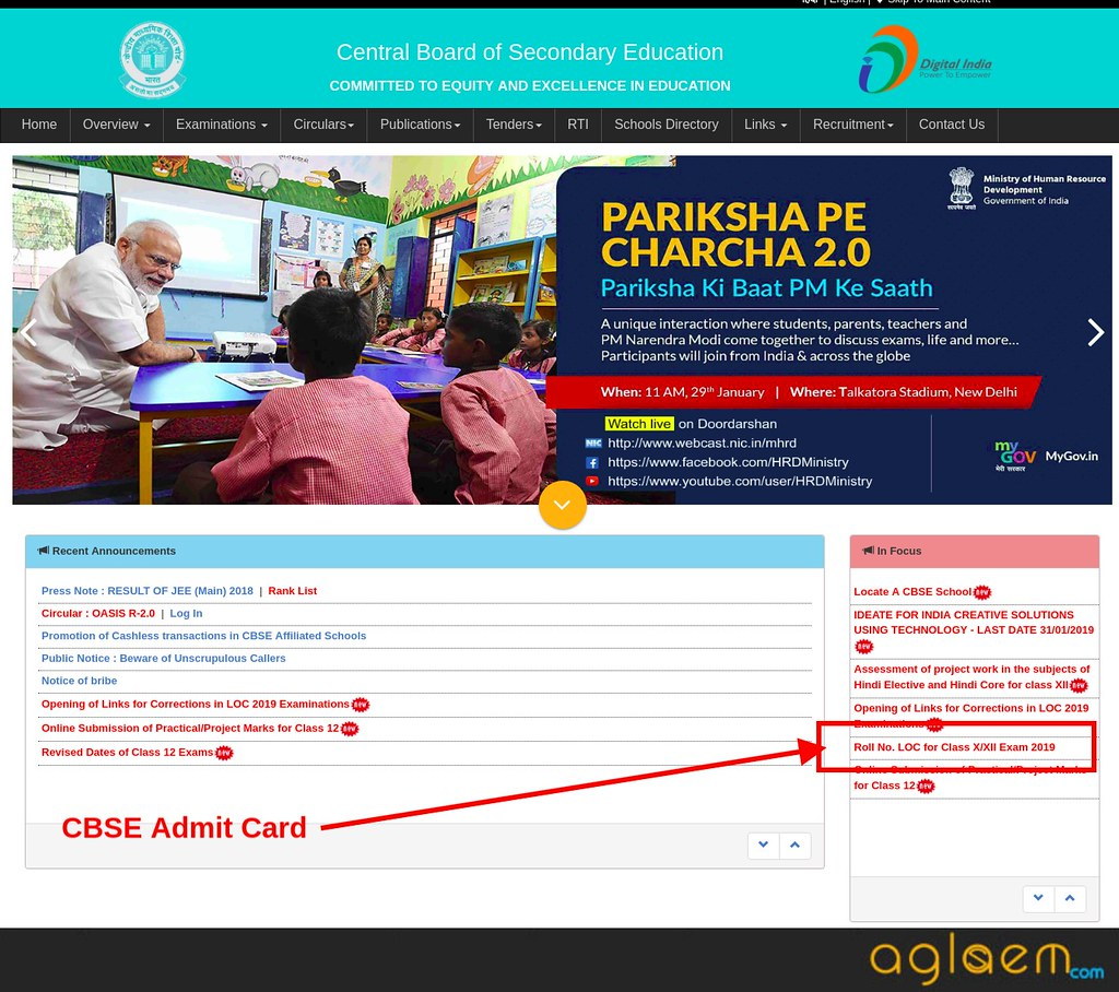 CBSE Date Sheet 2019 | CBSE Exam Date 2019 [Released