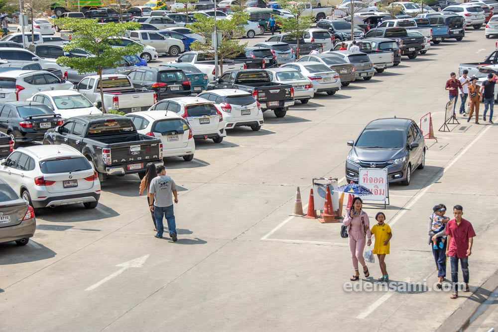 Чаченгсао парковка