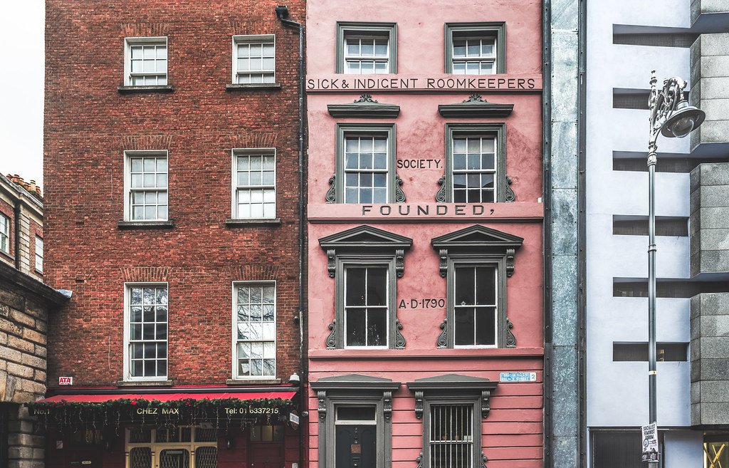 PALACE STREET - THE SHORTEST STREET IN DUBLIN 001