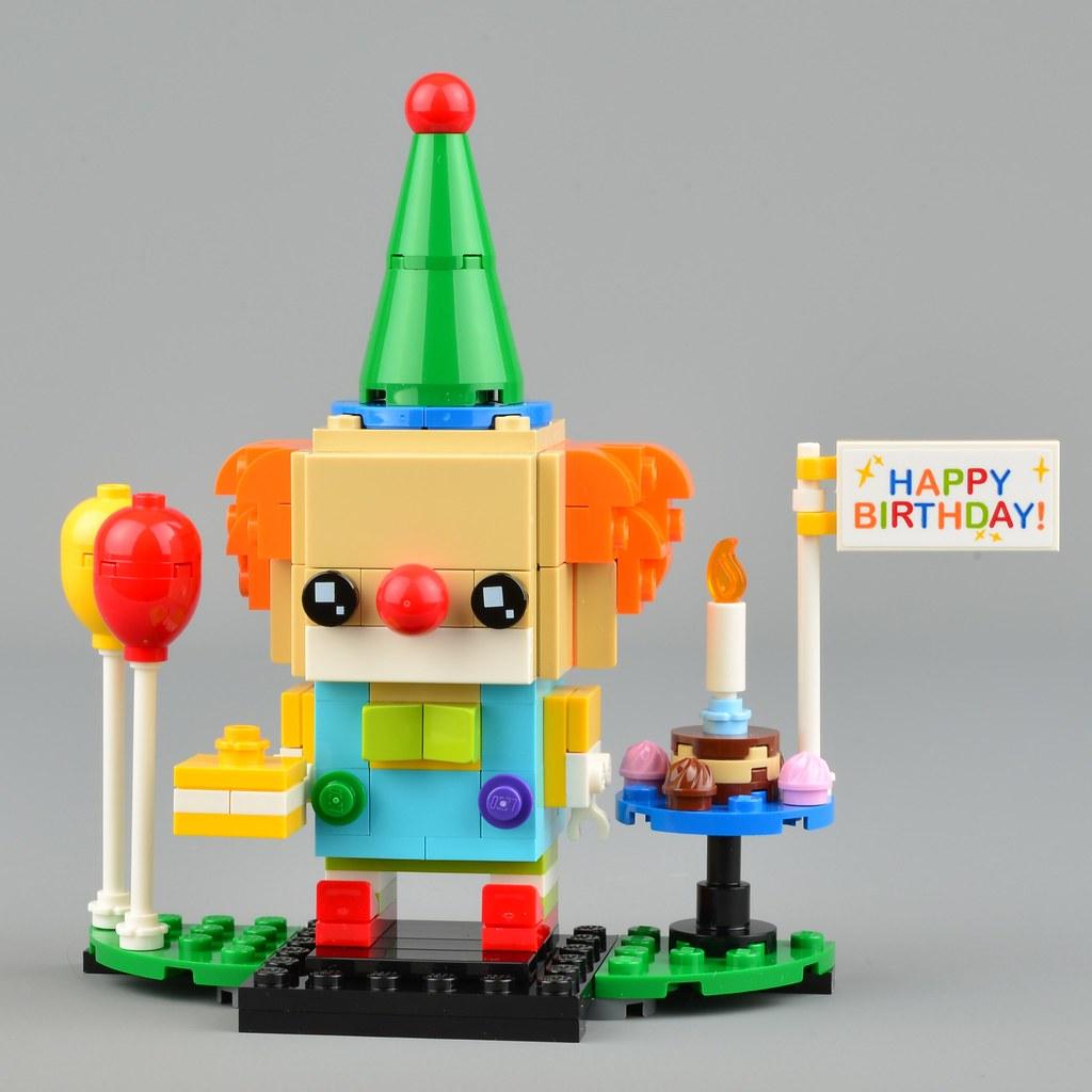 LEGO BrickHeadz 40348 Birthday Clown review   Brickset: LEGO