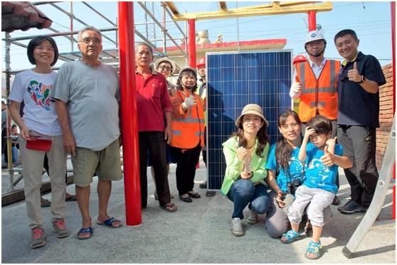 2017年陳曼麗與洪宗熠委員參與彰化台西村綠能社區工作坊。