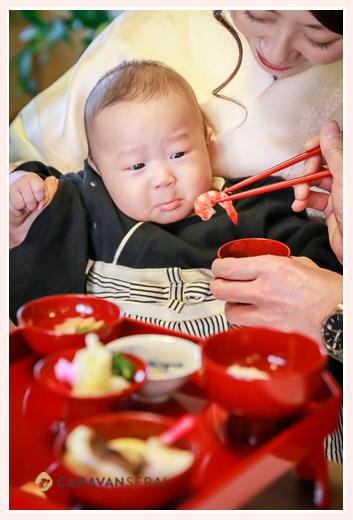 あつた蓬莱軒のお食い初め 愛知県名古屋市