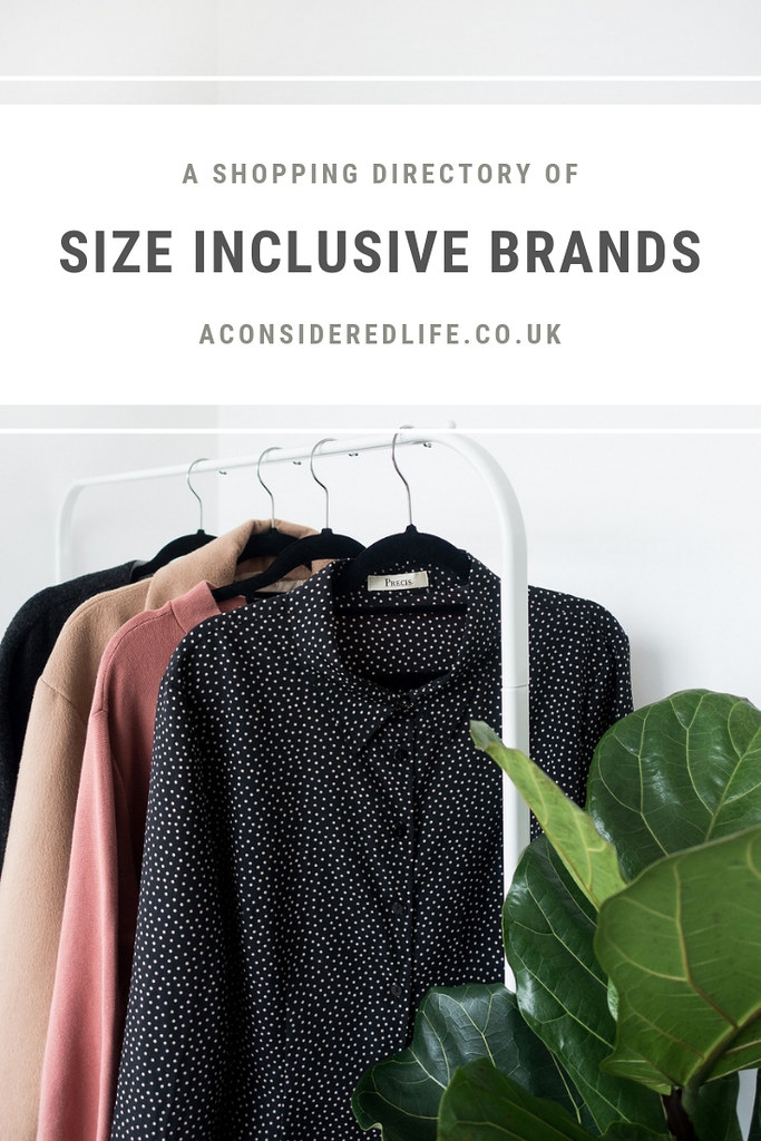Size Inclusive Sustainable Fashion Brands