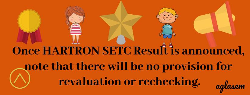 HARTRON SETC 2019 Result