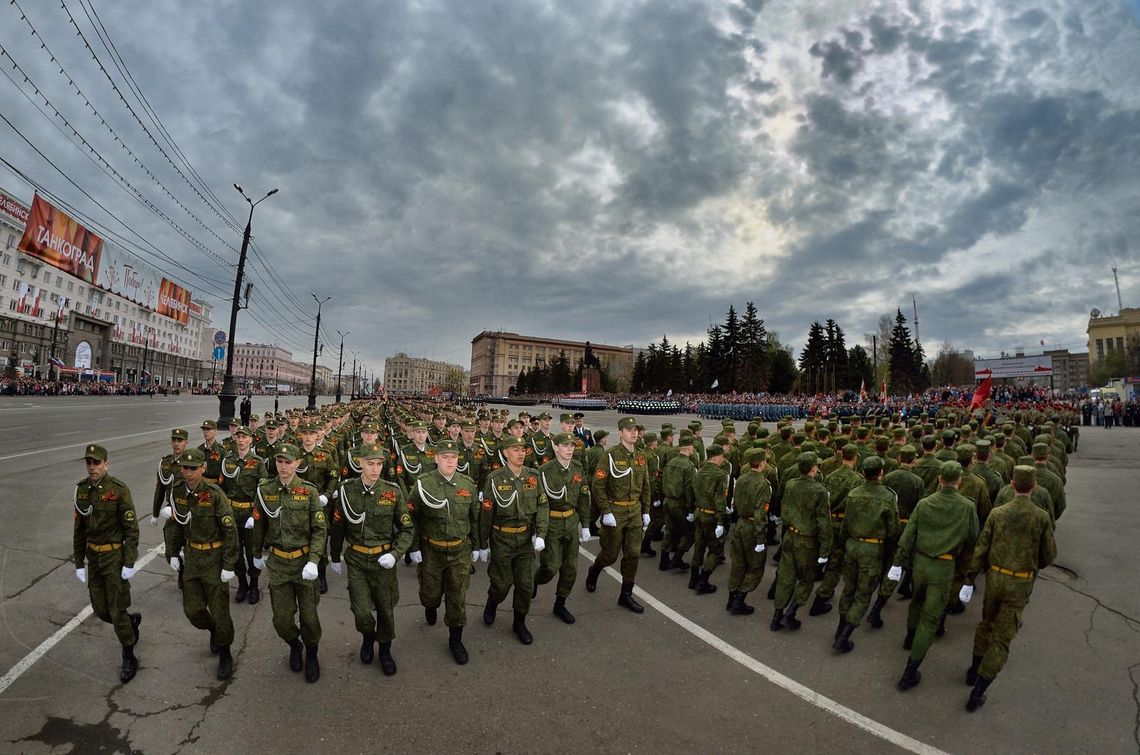фотограф Челябинск - Военный парад, Россия - Military parade, Russia