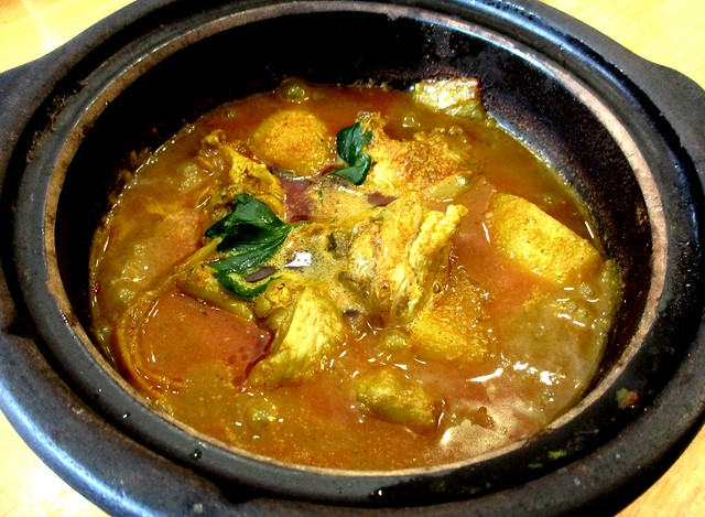 Claypot chicken curry