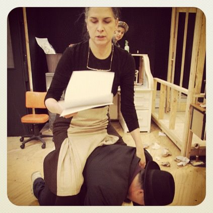 Pamela Rabe | His Girl Friday (Rehearsal)