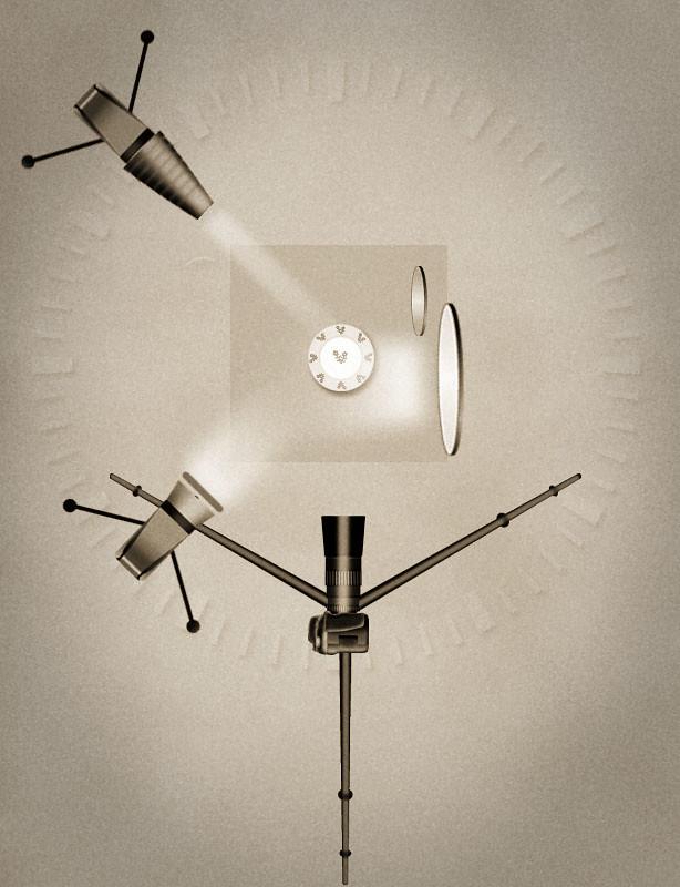 Esquema de luz de la fotografía de la xatonada