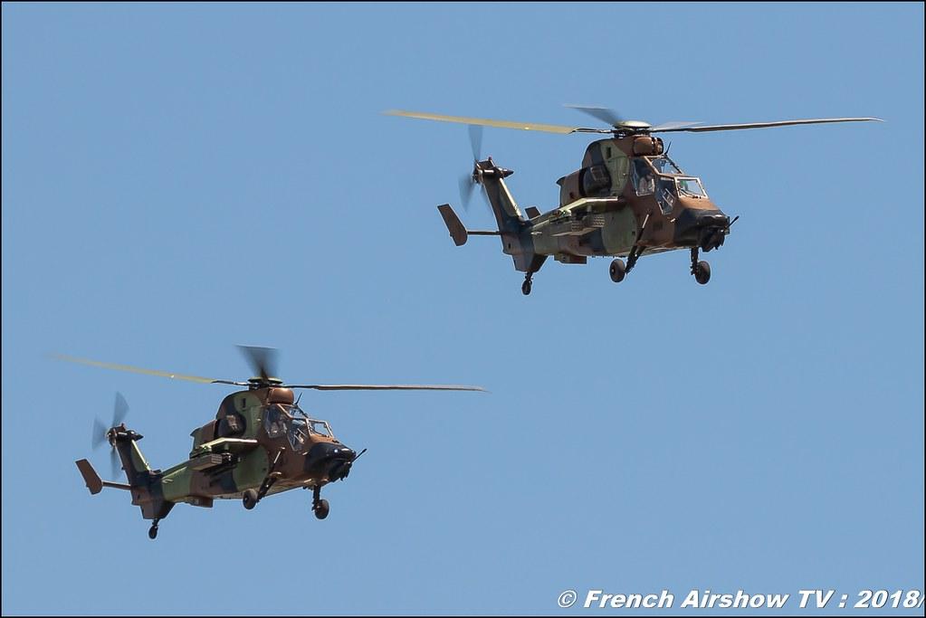 Patrouille Eurocopter EC665 Tigre Team hélicoptère Aerotorshow 2018 – Fête aérienne de Valence Chabeuil Canon Sigma France contemporary lens Meeting Aerien 2018