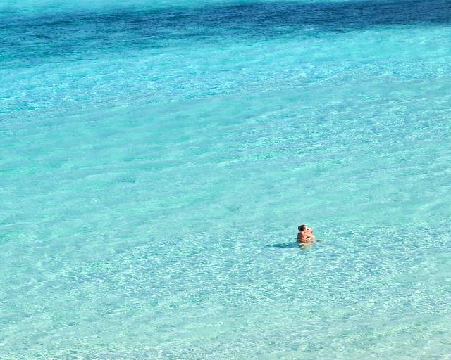 Nadando en las aguas de Escorxada