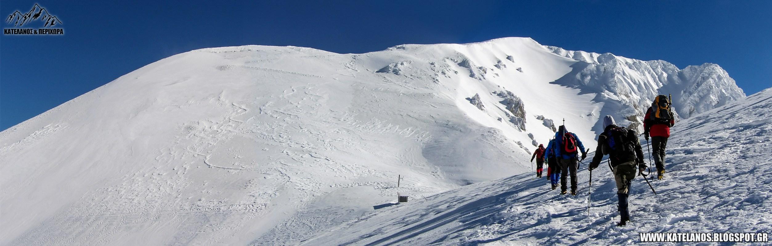βελουχι ψηλη κορυφη σεϊντανι τυμφρηστός χειμωνας χιονια