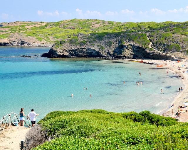 Playas del norte de Menorca
