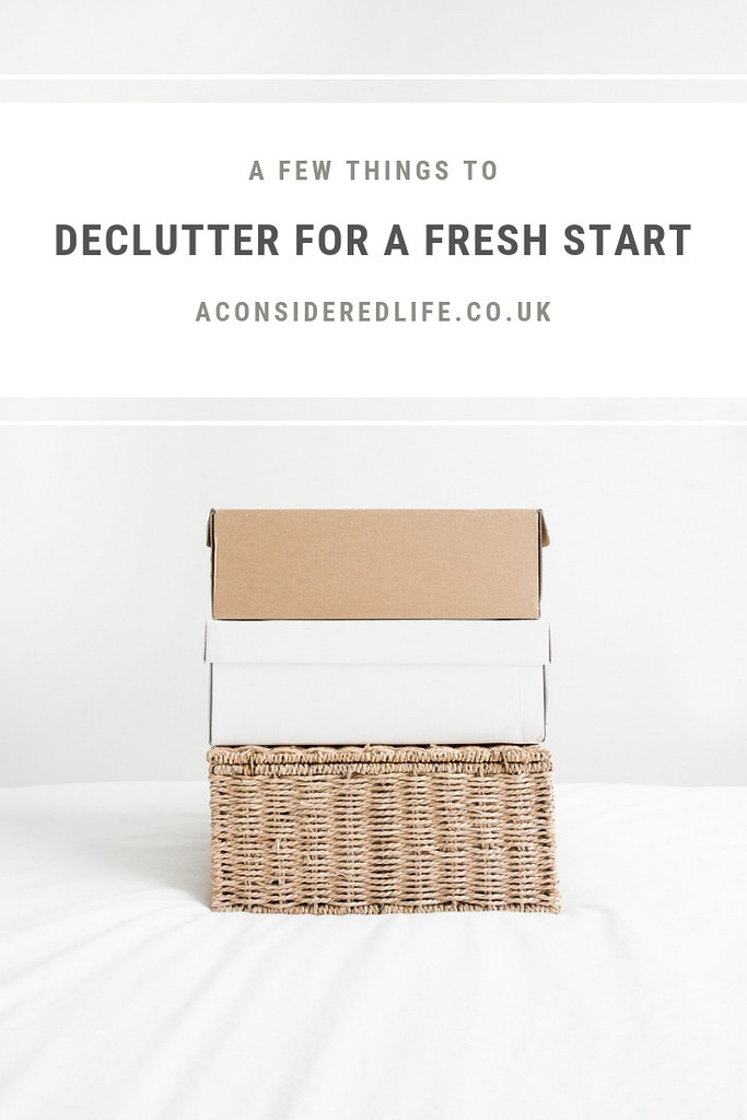 Decluttering For A Fresh Start