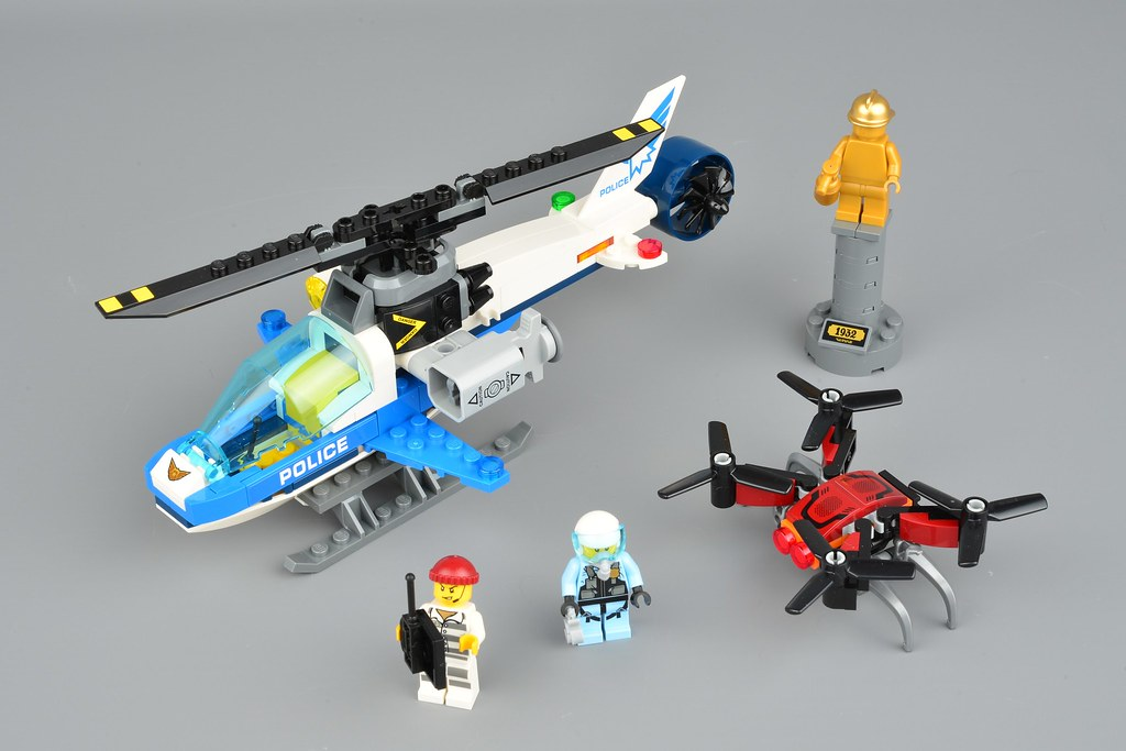 Lego City 60207 Drone Chase Review Brickset Lego Set Guide And