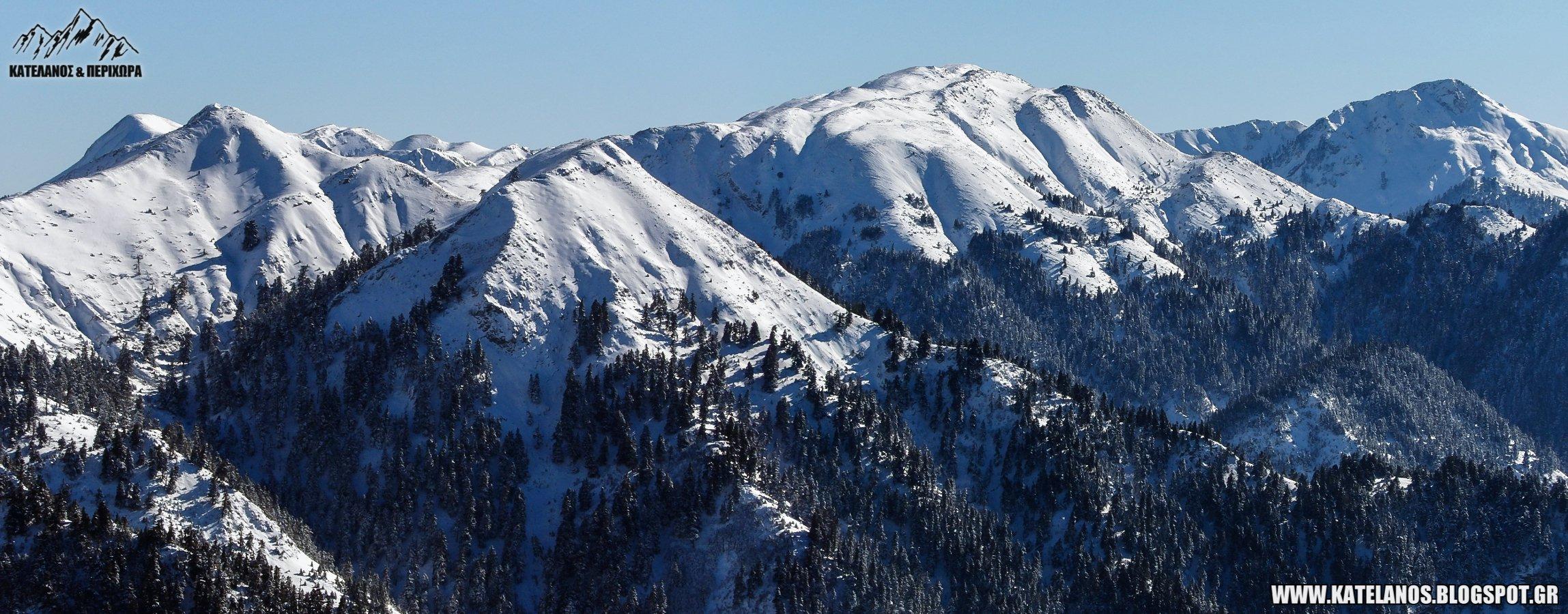 κεδρος καταβοθρα παναιτωλικο ορος χιονια οροσειρα αιτωλοακαρνανιας