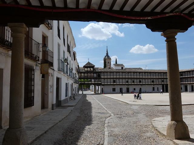 Plaza Mayor de Tembleque (Castilla-La Mancha, Toledo)