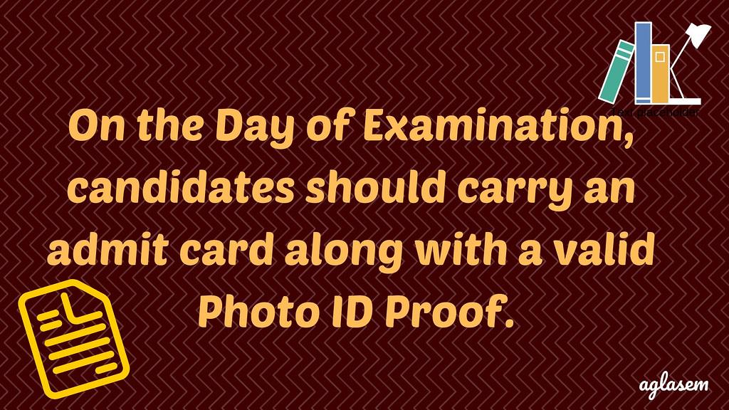 Visva Bharati 2020 Admit Card