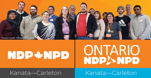 2019 Kanata-Carleton NDP Executive