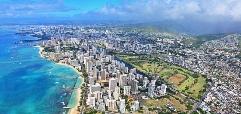 Magnum rodado en Hawaii