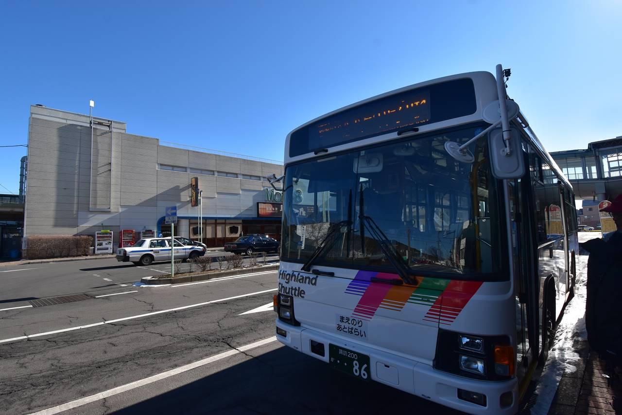茅野駅~北八ヶ岳ロープウェイ行きバス