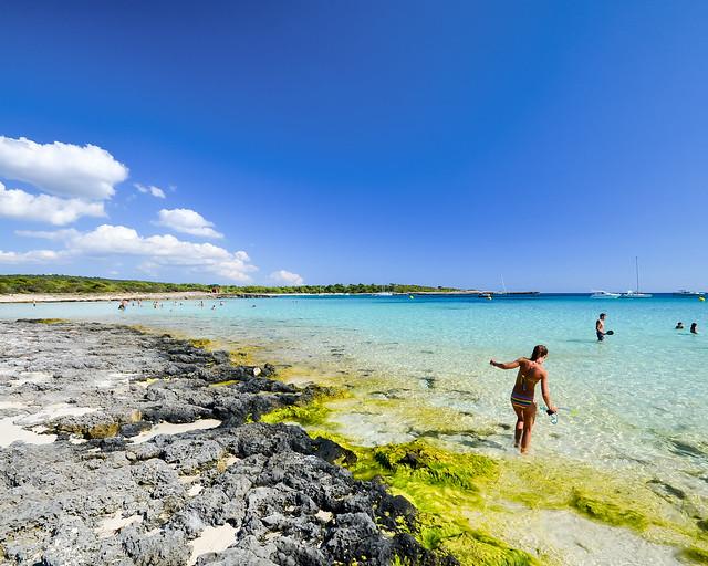Playas paradisíacas de Son Bou en Menorca