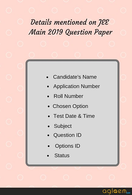NTA Releases JEE Main 2019 Question Paper And Response Sheet At jeemain.nic.in; Know How To Download Here