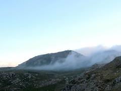 Monte Stello dans la brume