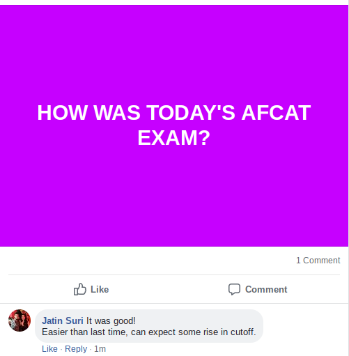 AFCAT 2019 Exam reaction by candidates