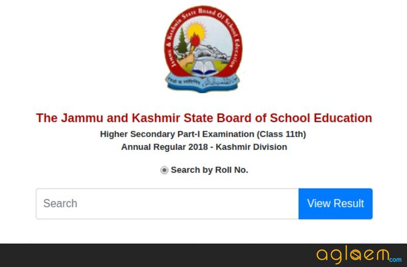 JKBOSE Class 11 Result 2018 for Kashmir Division